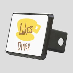 Lukes Diner Logo Hitch Cover