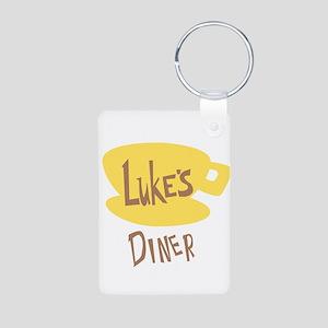 Lukes Diner Logo Keychains