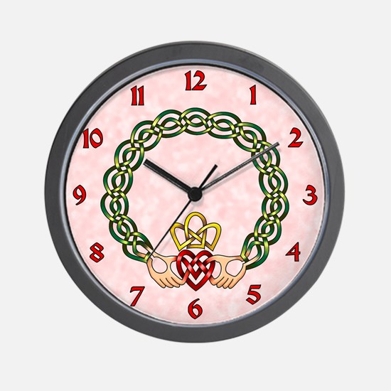 Claddagh Wall Clock