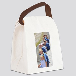 Add Your Vertical Photo Canvas Lunch Bag