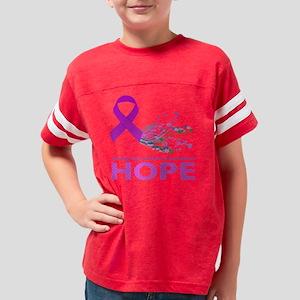 Fibro Hope Youth Football Shirt
