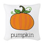 pumpkin_CP Woven Throw Pillow