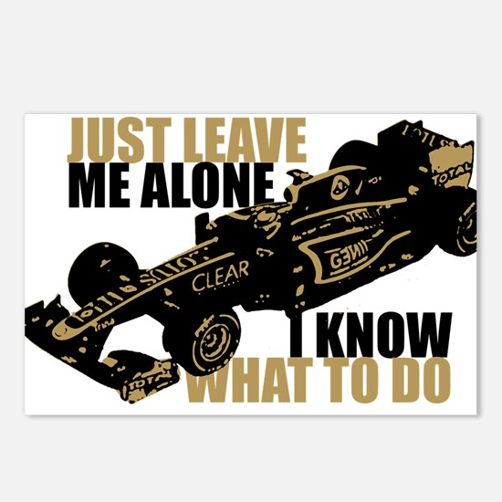 Kimi Raikkonen - Just Leave Me Alone Postcards (Pa