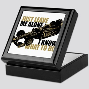 Kimi Raikkonen - Just Leave Me Alone Keepsake Box