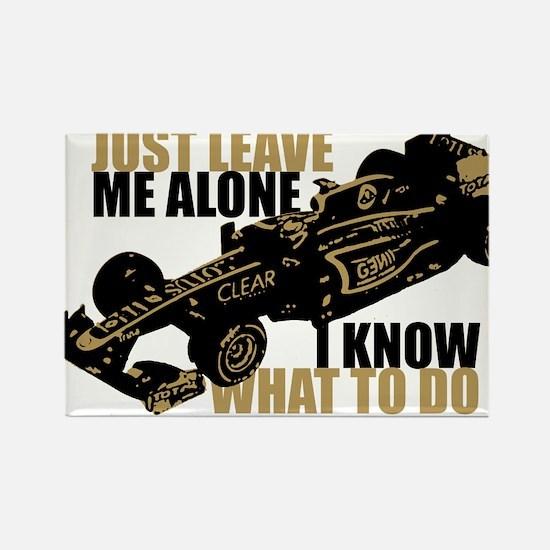 Kimi Raikkonen - Just Leave Me Alone Magnets