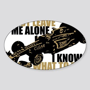 Kimi Raikkonen - Just Leave Me Alone Sticker
