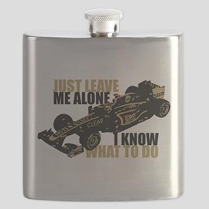 Kimi Raikkonen - Just Leave Me Alone Flask
