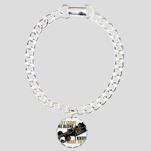 Kimi Raikkonen - Just Leave Me Alone Bracelet