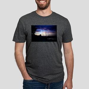 PICT0074 twilight sunse Mens Tri-blend T-Shirt