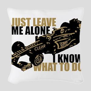 Kimi Raikkonen - Just Leave Me Alone Woven Throw P