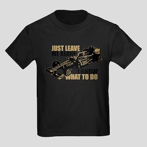 Kimi Raikkonen - Just Leave Me Alone T-Shirt
