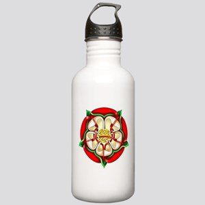 Tudor Rose Stainless Water Bottle 1.0L