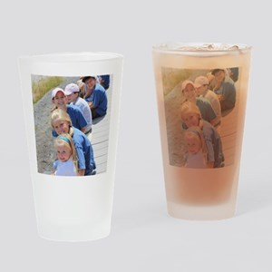 Add your Square Photo Drinking Glass