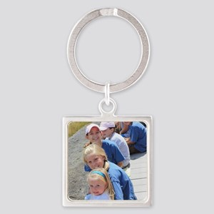 Add your Square Photo Keychains