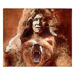 Bear's Belly - Arikara King Duvet