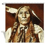 Wolf Robe - Cheyenne Shower Curtain
