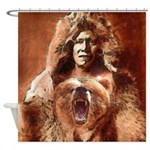 Bear's Belly - Arikara Shower Curtain
