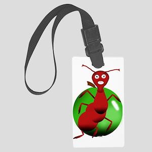 Fourmi rouge Large Luggage Tag