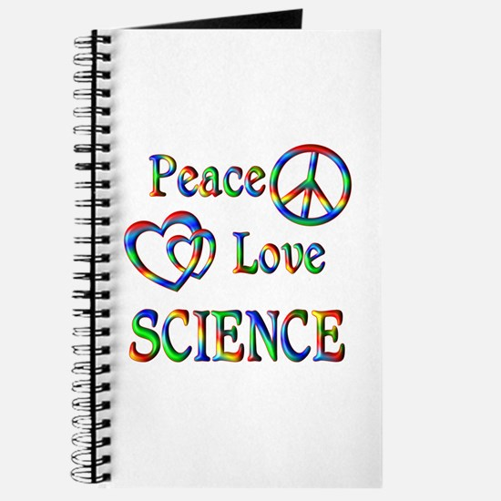 Peace Love SCIENCE Journal
