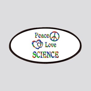 Peace Love SCIENCE Patches