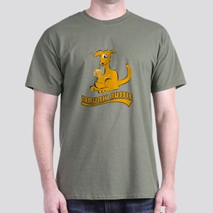 Drunk Aussie Dark T-Shirt
