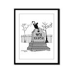401 Error Framed Panel Print