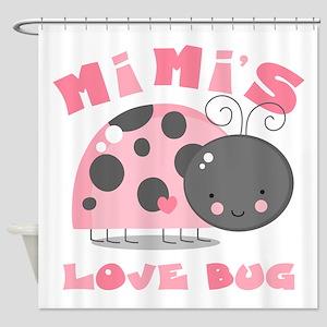 Mimi's Love Bug Shower Curtain