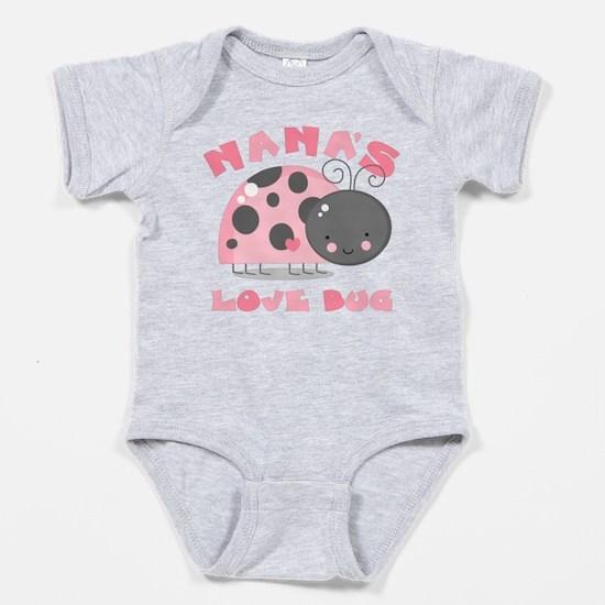 Nana's Love Bug Baby Bodysuit