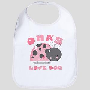 Oma's Love Bug Bib