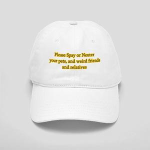 please spay or neuter Cap