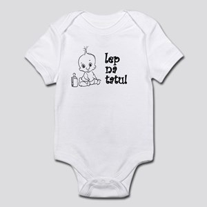 Lep Na Tatu - Cute Like My Da Infant Bodysuit