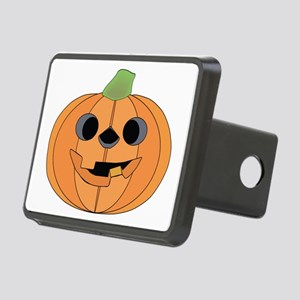Halloween Carved Pumpkin Hitch Cover