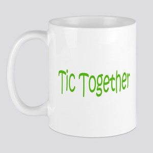 Tic Together Green Mug