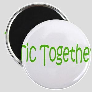 Tic Together Green Magnet