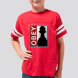 OBEY. Like a pawn. Youth Football Shirt