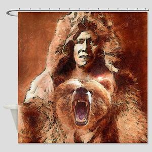 Bear's Belly - Arikara Shower Curtain