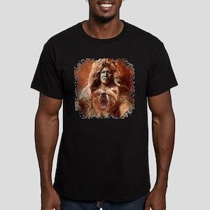 Bear's Belly - Arikara Men's Fitted T-Shirt (dark)