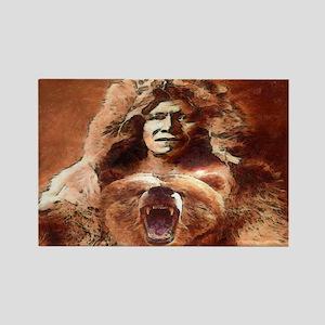 Bear's Belly - Arikara Rectangle Magnet