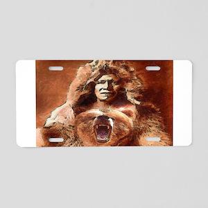 Bear's Belly - Arikara Aluminum License Plate