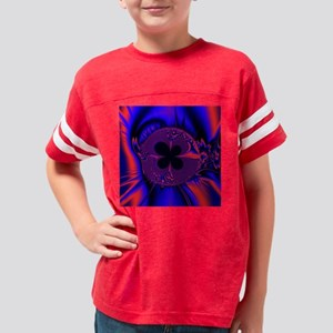 Fractal12(15.35x15.35) Youth Football Shirt