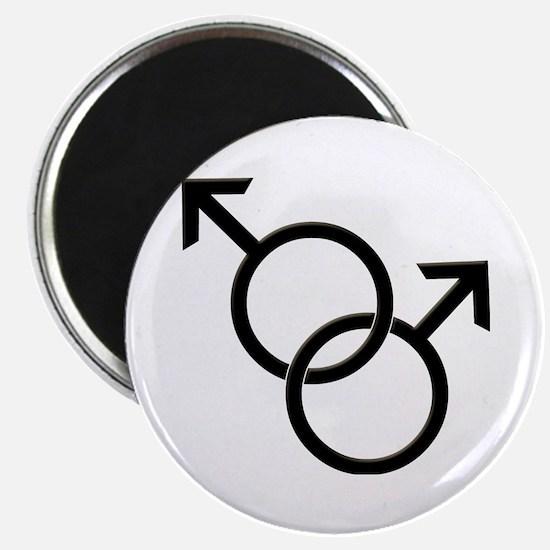 Gay Pride Same Sex Man Love Magnets
