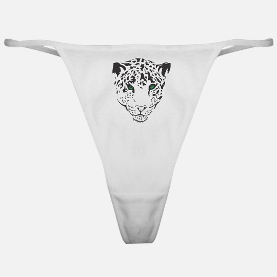 Snow Leopard Classic Thong