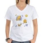 Honey Bee Dance Women's V-Neck T-Shirt