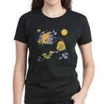 Honey Bee Dance Women's Dark T-Shirt