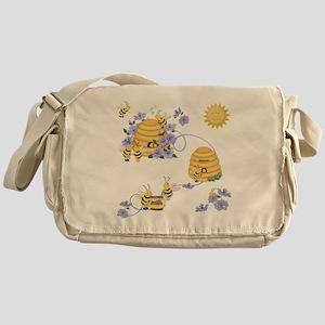 Honey Bee Dance Messenger Bag