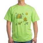 Honey Bee Dance Green T-Shirt