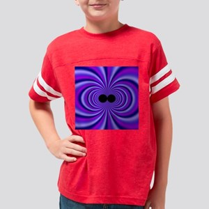 Fractal13(15.35x15.35) Youth Football Shirt