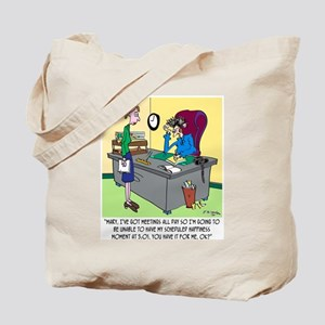 Scheduled Happiness Minute Tote Bag
