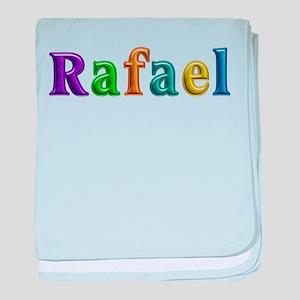 Rafael Shiny Colors baby blanket