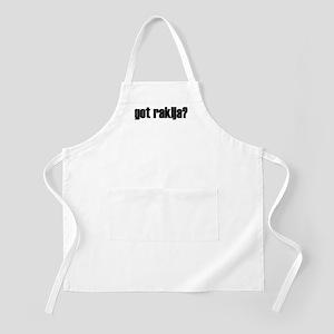 Got Rakija?  BBQ Apron